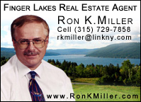 Ron K. Miller, Finger Lakes Real Estate